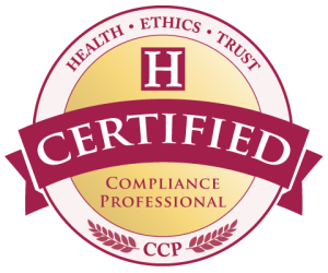 Healthcare Compliance Certification - CCP