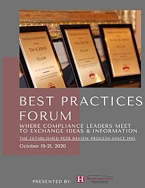 Best Compliance Practices Forum Brochure 2020
