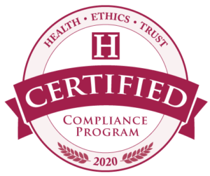 Health Ethics Trust Certified Compliance Program Seal 2020